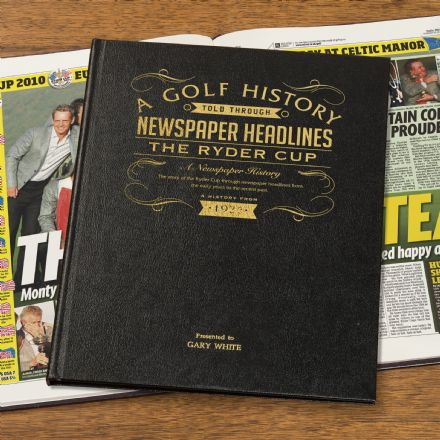 The Ryder Cup - Newspaper Book